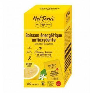 10 Zakjes met Meltonic Antioxidant Energy Drink - Citroen