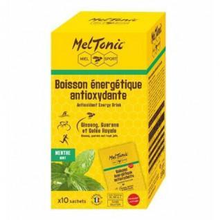 10 Zakjes met Meltonic Antioxidant Energy Drink - Mint