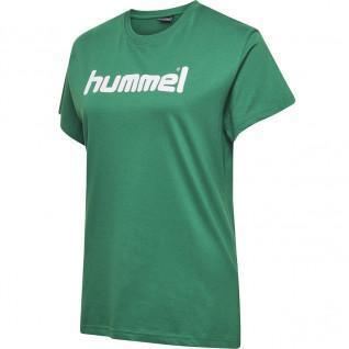 Dames-T-shirt Hummel Cotton Logo