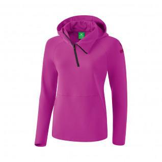 Dames sweatshirt Erima à capuche essential