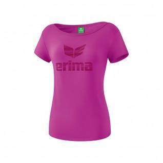 Dames-T-shirt Erima essential à logo