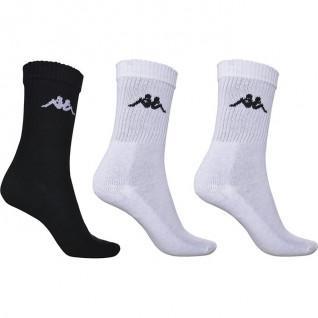 Set van 3 paar Kappa Chimido sokken