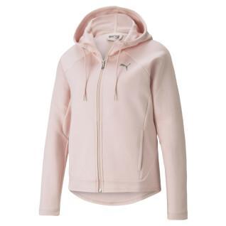 Sweater met volledige rits voor dames Puma Evostripe
