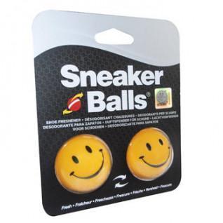 Pakket van 12 Happy Face Sneakerballs deodorant ballen