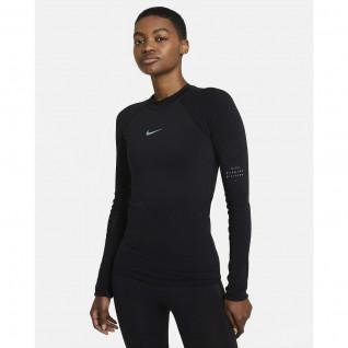 Dames-T-shirt Nike Run Division