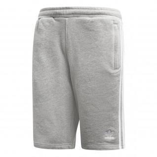 adidas 3-Strepen Korte broek grijs