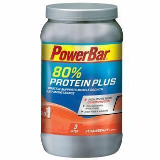 Poeder PowerBar ProteinPlus 80 % - Strawberry (500gr)