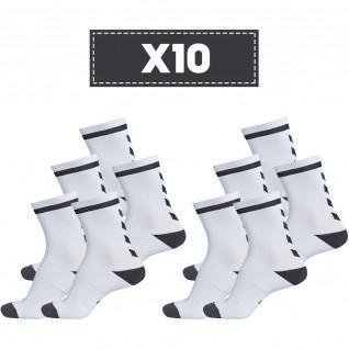 Pakket van 10 paar Hummel Elite Binnenshuis Laaglicht sokken