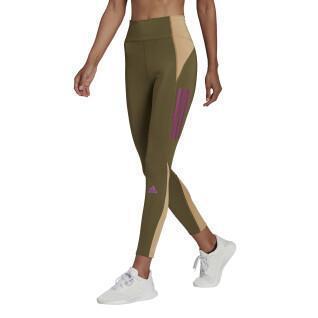 Dameslegging adidas Own The Run Block 7/8 Running