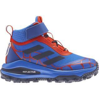 Kinderschoenen adidas Marvel Spider-Man Freelock Fortarun