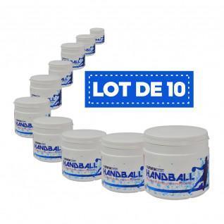 Set van 10 hoogwaardige witte harsen Sporti France - 500 ml