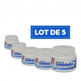 Partij van 5 Sporti France High Performance White Resin - 100 ml