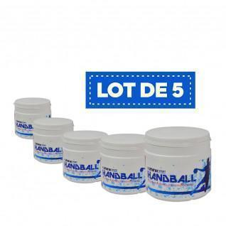Set van 5 hoogwaardige witte harsen Sporti France - 500 ml