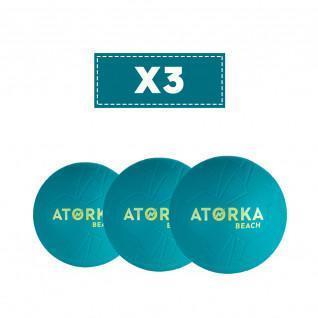 Set van 3 strandhandballen Atorka HB500B