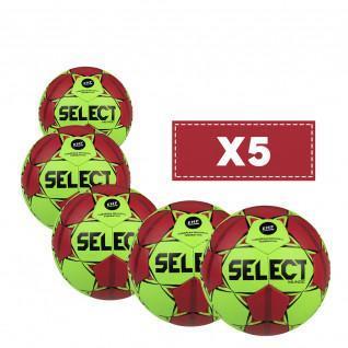 Set van 5 Selecteer Mundo v20/22-ballonnen