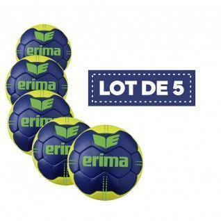 Set van 5 ballonnen Erima Pure Grip N° 4