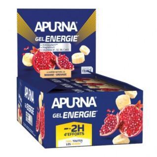 Pakket van 24 Apurna Energie Granaatappel Bananengels - 35g
